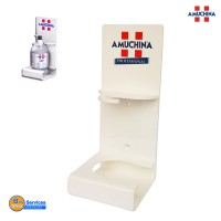 Dispenser con logo per Amuchina